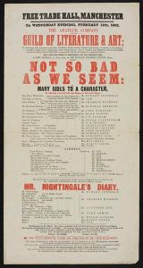 Figure 2: The theatricals of Charles Dickens have thus been viewed in isolation as part of a literary culture. Instead, this research reveals the amateur theatricals of Dickens and his company to be part of the emergence of amateur dramatics more broadly. Copyright Victoria & Albert Museum.